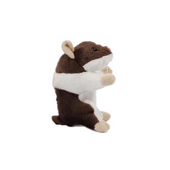38ff60599a2628 Pluche hamsters knuffel 13 cm bruin knuffeldier winkel